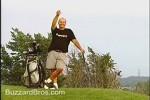 ゴルフ場でドッキリ
