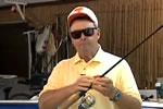 釣り番組でのハプニング映像